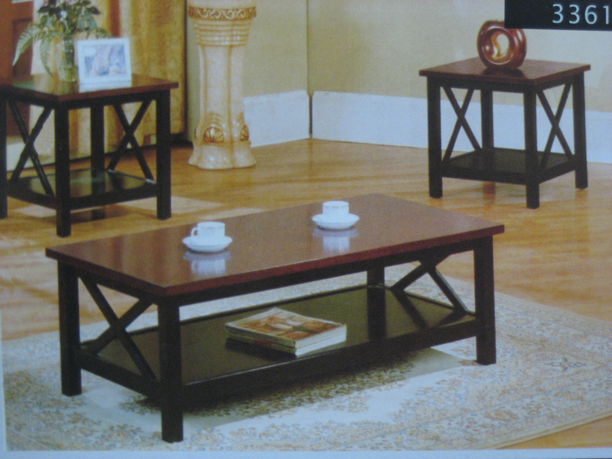 3361 Coffee Table 2 End Tables Set Furniture Outlet Llc In Pickerington Ohio 1272 Hill Rd